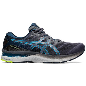 asics Gel-Nimbus 23 Scarpe Uomo, carrier grey/digital aqua